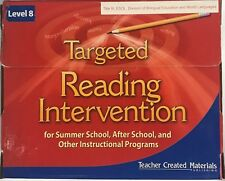 Targeted Reading Intervention Level 8 Kit Teacher Created Materials TCM11178