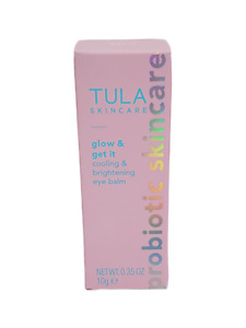 Tula Skin Care Rose Glow & Get It Cooling & Brightening Eye Balm 0.35 oz/10g NIB