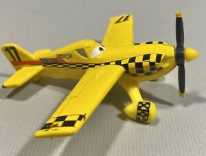 Disney Pixar Planes Yellow Bird #17 Die Cast Cars Airplane BDB89