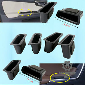 4Pcs Set Inner Door Handle Armrest Storage Box Holder For Volvo XC60 2009-2016