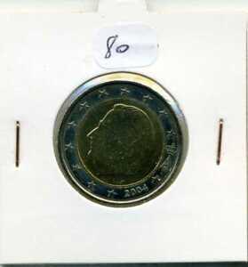 Pièce 2 Euro Belgique 2004