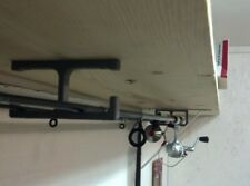 Fishing Rod Ceiling or Wall Holder for 2 Poles / Hanger Made in USA