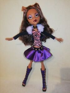 Monster High Clawdeen Wolf - Frightfully Tall. EX DISPLAY ONLY PERFECTION, MINT!