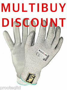 1 PAIR NEW SAFE FIT ANTI CUT LEVEL 5  GLOVES MULTI PURPOSE HIGH QUALITY