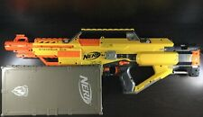 Nerf Stampede ECS + Clip/Dart Box + Clips + Over 75 Darts + Batteries! EXC!