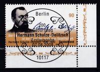 BRD 2008 gestempelt ESST MiNr. 2684  Hermann Schulze-Delitzsch