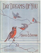 1918 Day Dreams of You by Harold B Freeman