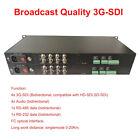 3G SDI Full HD Video Audio over Fiber optic Optical Media Converter 20Km 1080p60