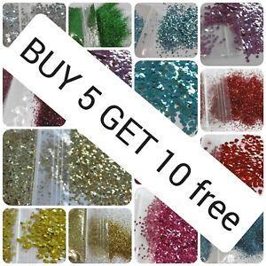 Biodegradable Glitter Cosmetic Bio Eco Chunky Fine L@@K BUY 5 GET 10 FREE
