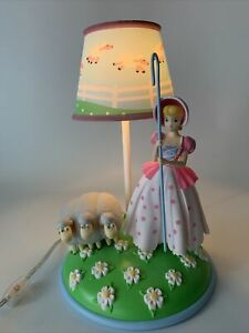 Disney Pixar Table Lamp Removable Little Bo Peep With Sheep Toy Story 4