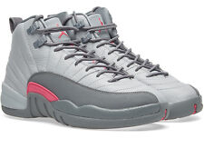 "Size 9.5 Youth (11 Women's) Nike Air Jordan Retro 12 ""Wolf Grey"" 510815 029"