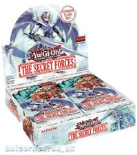 YuGiOh! The Secret Forces 1st Edition Booster Box : New and Sealed : 24 Boosters