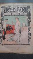 Revista Jean Que Rit N º 398 1908 Journal Demuestra que Aparecen El Viernes ABE