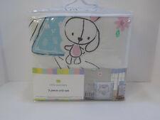 Rabbit Bunny Little Wonders Little Friends 3-Piece Baby Crib Bedding Set