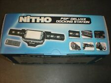 NITHO PSP DELUXE DOCKING STATION NUOVO PER PSP PLAYSTATION PORTABLE VERSIONE ITA
