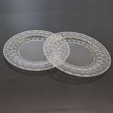 """30 x 6""""/15.24cm clair fort élégant en plastique côté plaques plaques-bambou look"""
