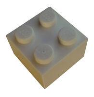Lego 50 Stück Stein 2x2 in dunkelbeige (dark tan) Steine (3003) Basics Neu