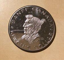 Baniff Canada Indian Days Feather 1970 Kiwanis Dollar