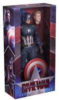 Marvel Neca Civil War Captain America 1:4 Scale Action Figure