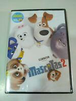Mascotas 2 + Dos Mini Peliculas - DVD + Extras Nuevo 3T