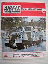 Airfix Magazine For Plastic Modellers - December 1971 - Military Modelling etc.