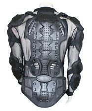 Peto Integrale Moto cross Enduro chaqueta Proteccion NEGRO S M L XL XXL XXXL