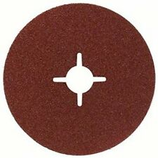 ABRACS fibra Disco de lija óxido aluminio 125mm x 22mm 80grit x25 abfd125080azc
