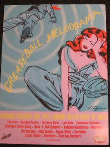 Niagara Promo Poster 2003 Greaseball Melodrama Gearhead Records Detroit Pop Art