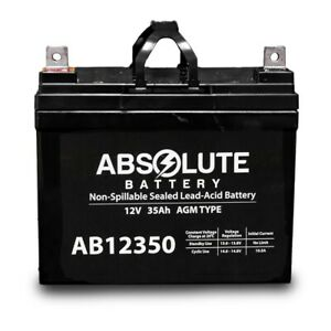 NEW AB12350 12V 35AH SLA Battery Replacement for Sonnenschein A21228G6