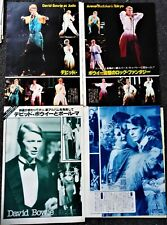 New listing David Bowie Japanese movie magazine pinups & clippings