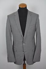 Recent Hugo Boss Jacket Sport Coat Wool Size 38R Sharkskin gr. 48 Grey Blazer
