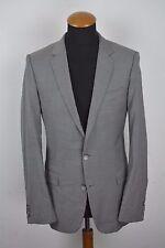 Recent Hugo Boss Jacket Sport Coat Wool Size 38R Sharkskin gr. 48 Grey Blazer
