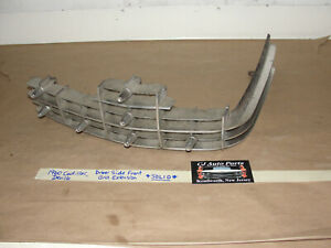 OEM 1960 60 Cadillac Deville LEFT DRIVER SIDE FRONT GRILL EXTENSION WITH BULLETS
