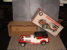 BANDAI TIN & PLASTIC RARE EXCALIBUR CAR W/AUTO REVERSE & BOX! FULLY WORKING TOO!