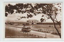 Tennis Courts & Bathing Pool Arbroath 1934 Real Photograph Valentines A311