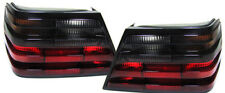 REAR LIGHTS tail lights in RED BLACK finish FOR Mercedes W124 85-93