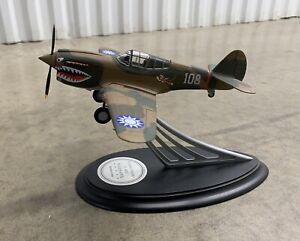 Franklin Mint - Tex Hill Flying Tigers P-40E Signature Series - 329 out of 1942