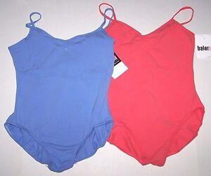 Nwt New Weissman Balera Leotard Leo Camisole Pinch Front Colors Women XL XXL