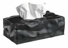 Essey 14414 Wipy Cube II Tissue Box Black