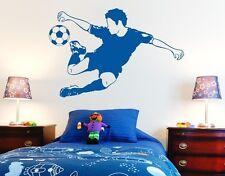 Soccer Star - highest quality wall decal sticker
