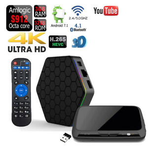 T95Z PLUS 4K HDR Octa Core 32GB 3GB DDR3 Amlogic Bluetooth Wifi Smart TV Box