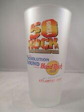 Hard Rock Cafe 50 anni rivoluzione del suono VETRI SMERIGLIATI Pepsi Atlantic City