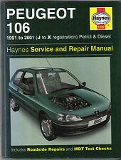 Peugeot 106 Petrol &  Diesel 1991-2001 Haynes Service & Repair Manual