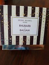 Henri Bendel Home Rhubarb + Balsam 14.5 Oz Scented 3-wick Candle