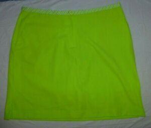 EP Pro Neon Green Skort 14