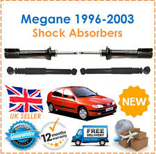 For Renault Megane MK1 1996-2003 Two front & Two Rear Shock Absorbers Set Pair