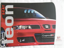 Seat Leon range brochure Oct 2004