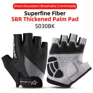 ROCKBROS Bike Half Finger Breathable Gloves Summer Sports Comfortable Gloves