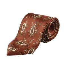 Accessoires marrons Brioni pour homme en 100% soie