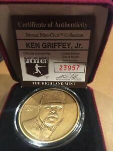 Ken Griffey, Jr. Highland Mint Bronze Coin